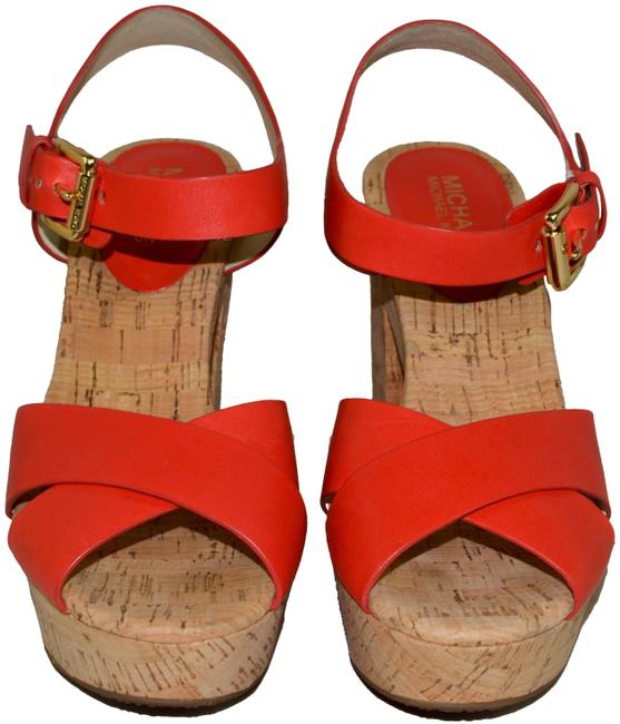 Item - Mandarin Natalia Platforms Size US 8.5 Regular (M, B)