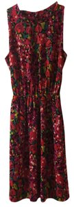 Lilly Pulitzer short dress Pink Floral Wild Confetti on Tradesy