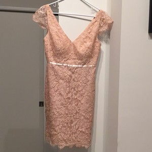 Jenny Yoo Pink/ Peach Collection Rn12179 Formal Bridesmaid/Mob Dress Size 4 (S)