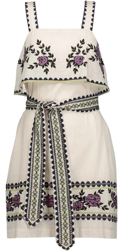 Suno Short Dress Ivory On Tradesy