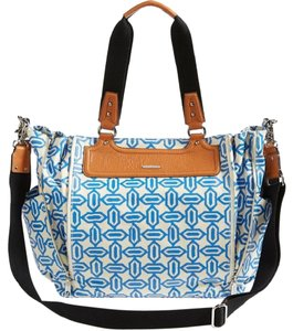 Rebecca Minkoff Blue & White Diaper Bag