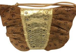 cd691e33f5fa Carlos Falchi Chi By Butterfly Rare Vintage Cross Body Bag