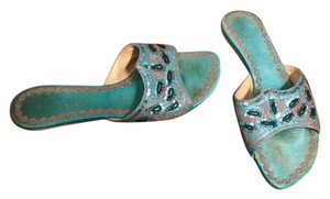 Kenneth Cole Reaction Turquoise Sandals
