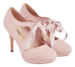 JustFab Pink Blush Pumps