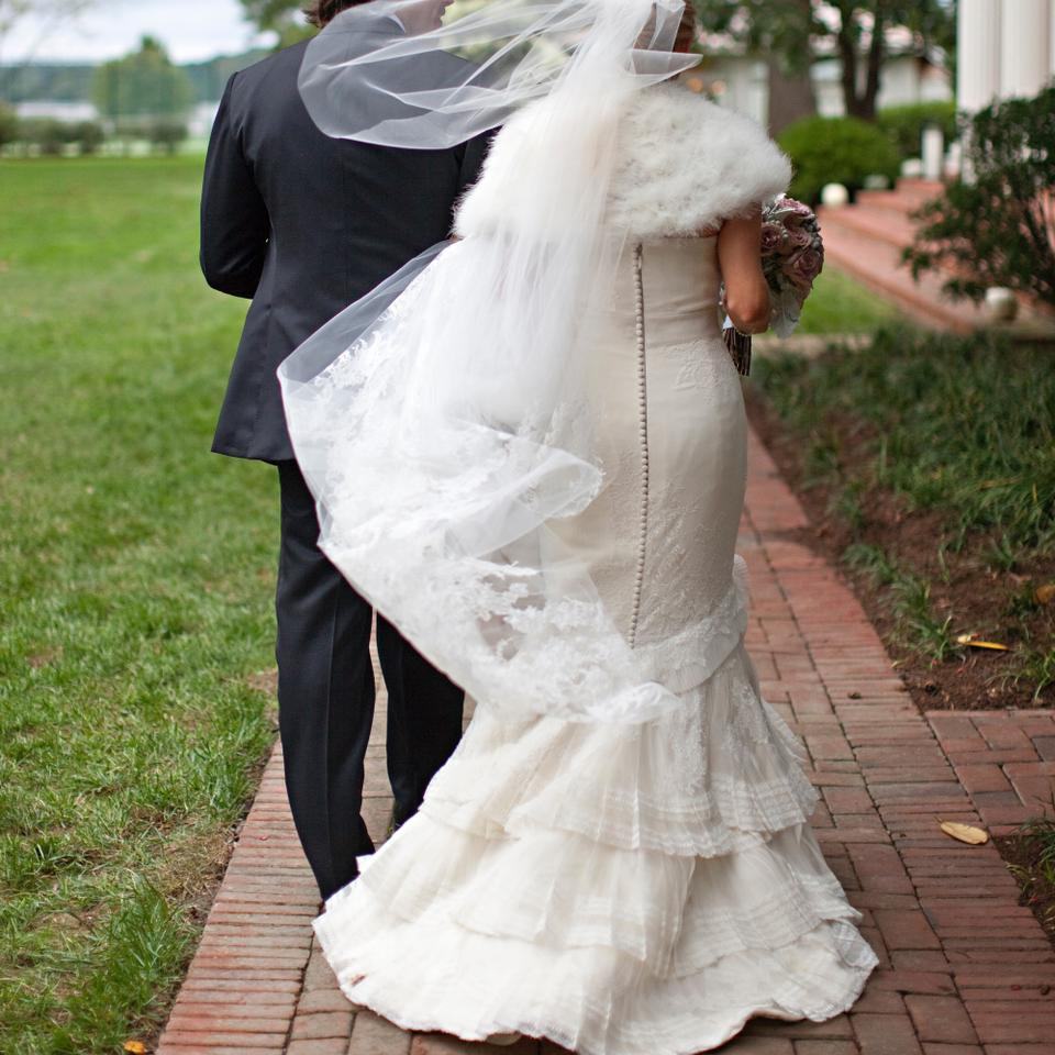 """Vera Wang Luxe Collection """"audrey"""" Wedding Dress On Sale"""