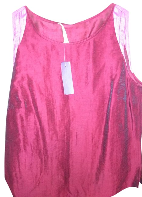 Preload https://img-static.tradesy.com/item/21460686/red-pink-new-york-small-two-tone-sleeveless-night-out-top-size-4-s-0-1-650-650.jpg