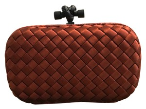 Bottega Veneta Rust Clutch