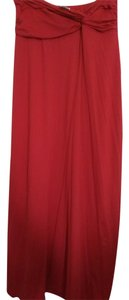 Red Maxi Dress by Carmen Marc Valvo