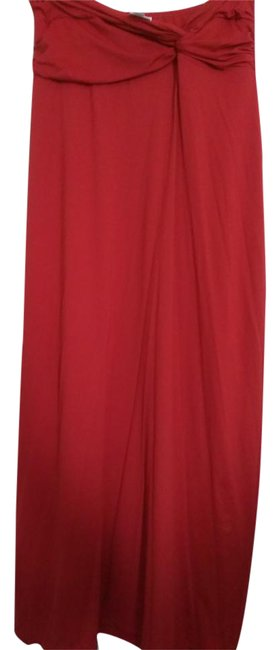 Preload https://img-static.tradesy.com/item/21460729/carmen-marc-valvo-red-strapless-stretchy-swim-long-casual-maxi-dress-size-2-xs-0-1-650-650.jpg