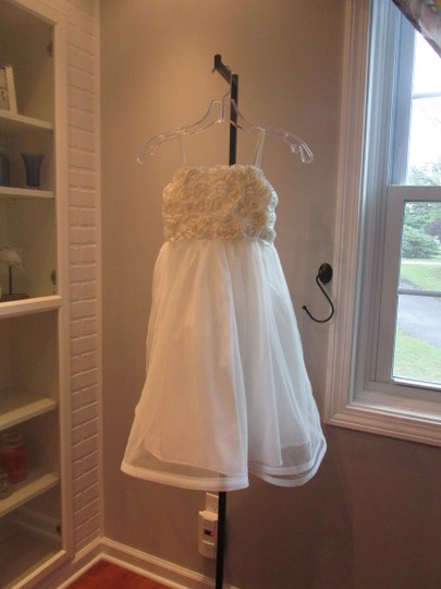 Alfred Angelo Ivory Style 6660-ivory Size 6-flowergirl/Holiday/Pagent 928-40 Image 1