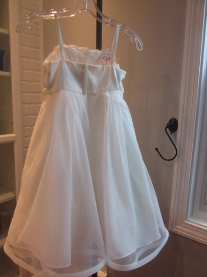 Alfred Angelo Ivory Style 6660-ivory Size 6-flowergirl/Holiday/Pagent 928-40 Image 2
