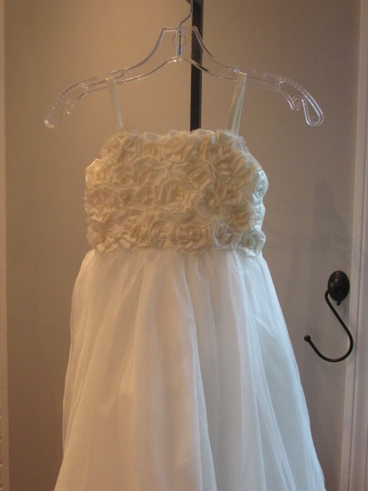 Alfred Angelo Ivory Style 6660-ivory Size 6-flowergirl/Holiday/Pagent 928-40 Image 7