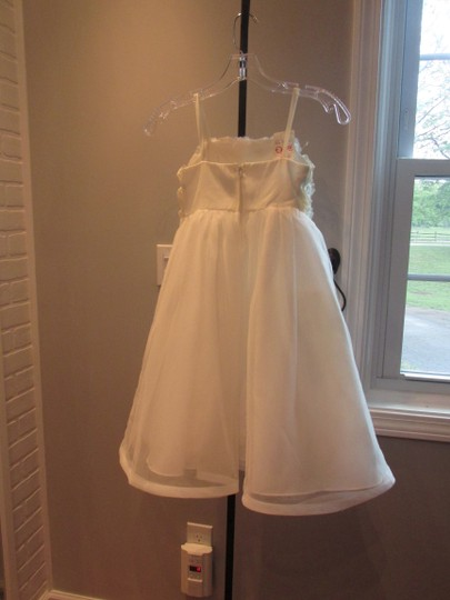 Alfred Angelo Ivory Style 6660-ivory Size 6-flowergirl/Holiday/Pagent 928-40 Image 8