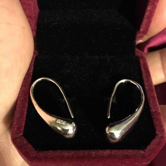 Queen Esther Etc 925 Sterling Silver Tulip Earrings Image 1