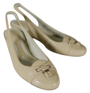 Naturalizer Patent Leather Tassels Pallor (beige) Wedges