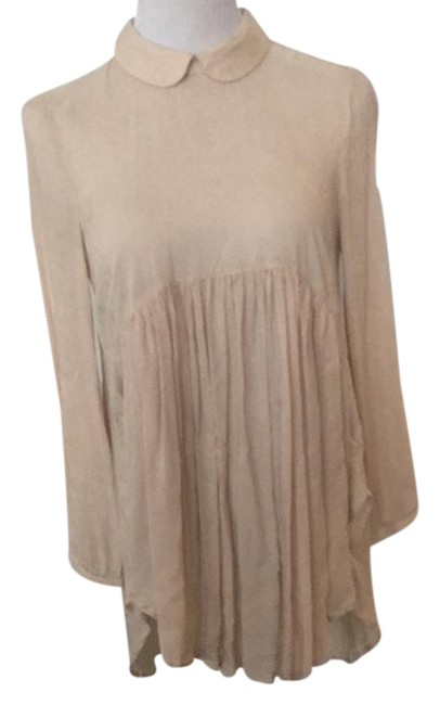 Taupe Baby Doll Short Casual Dress Size 0 Xs Tradesy