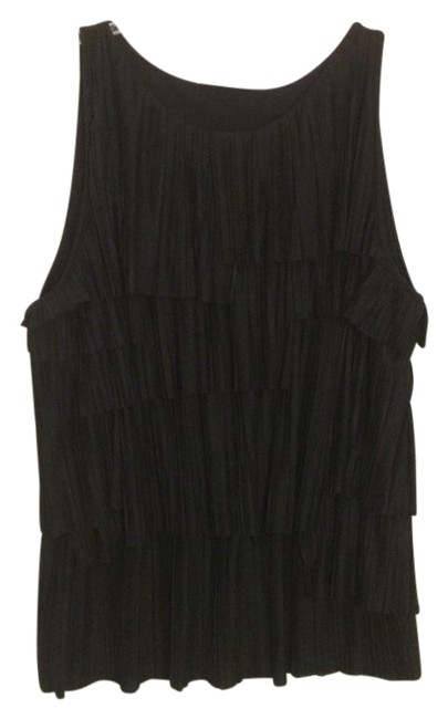 Preload https://img-static.tradesy.com/item/21461336/banana-republic-black-pleated-tier-tank-blouse-size-12-l-0-1-650-650.jpg
