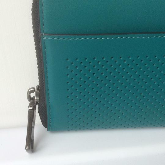 Coach Accordion Perforated Wallet in Perforated Leather Image 6