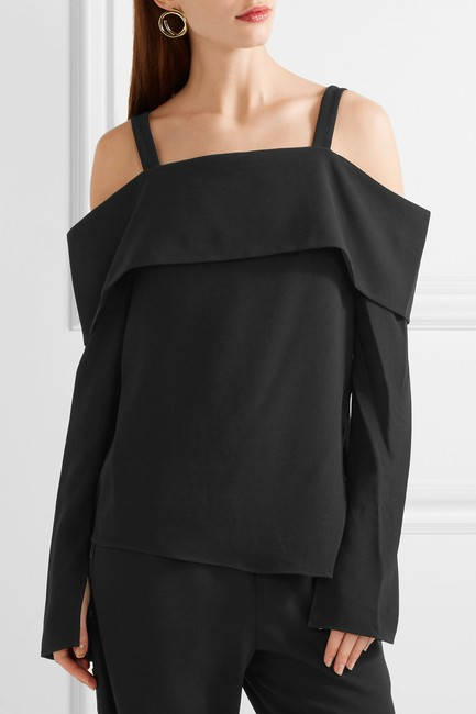 Tibi Helmut Lang Elizabeth And James Rag & Bone Iro Alexander Wang Top Black Image 6