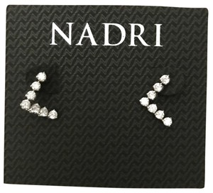 Nadri crystals stud earrings