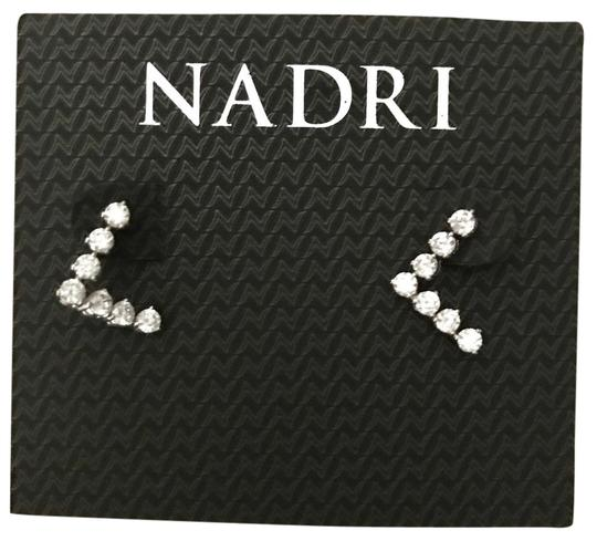 Nadri crystals stud earrings Image 0