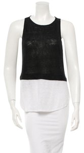 A.L.C. Top Black and creme