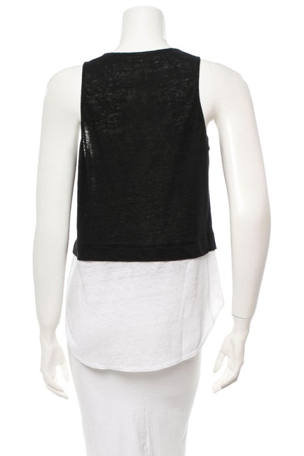 A.L.C. Top Black and creme Image 1
