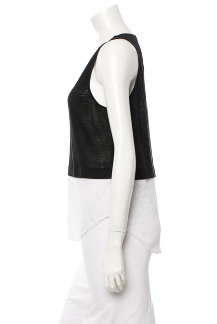 A.L.C. Top Black and creme Image 2
