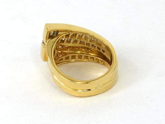 Charles Krypell 2.70tcw Baguette & Round Cut Diamond 18k Yellow Gold Cocktail Ring Image 3