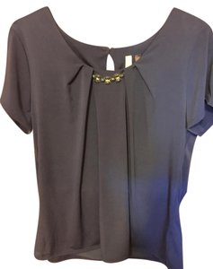 Blue Ny Collection Blouses Up To 70 Off A Tradesy