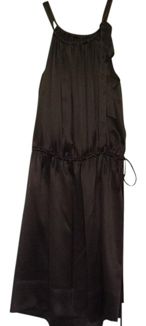 BCBGMAXAZRIA short dress brown Silk Drawstring on Tradesy Image 1