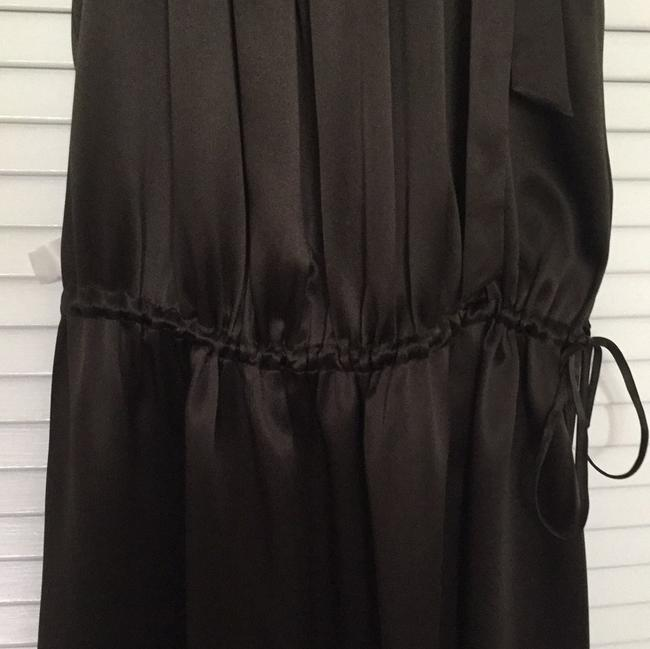 BCBGMAXAZRIA short dress brown Silk Drawstring on Tradesy Image 4