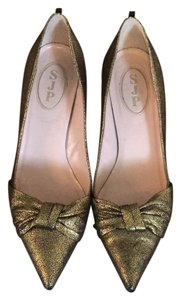 SJP by Sarah Jessica Parker Gold Pumps
