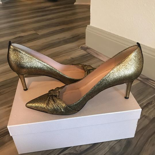 SJP by Sarah Jessica Parker Gold Pumps Image 1