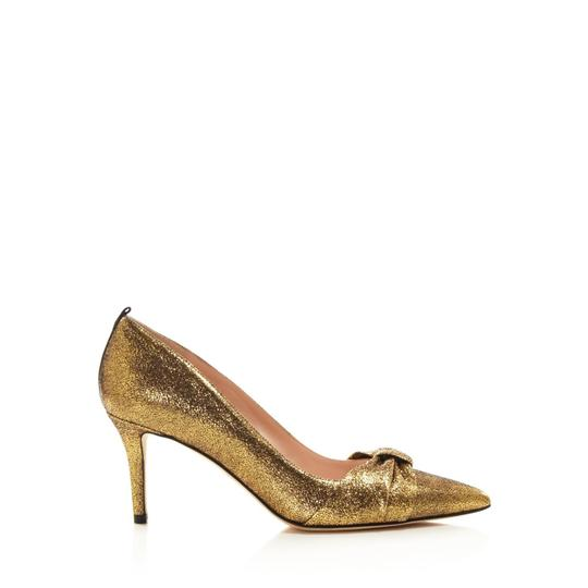 SJP by Sarah Jessica Parker Gold Pumps Image 5