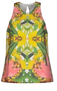 Finders Keepers Steal The Light Boho Festival Chic Australia Colorful Summer Spring Keyhole Back Classy Top Pink