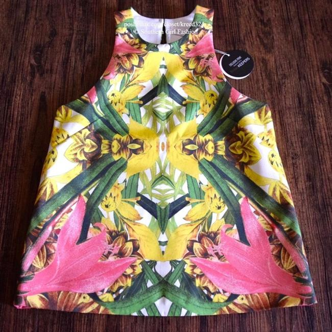 Finders Keepers Steal The Light Boho Festival Chic Australia Colorful Summer Spring Keyhole Back Classy Top Pink Image 3