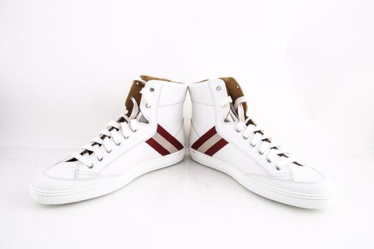 Bally White * Oldani Hedern Sneakers Shoes Image 5