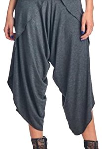 Popana Capri/Cropped Pants charcoal grey