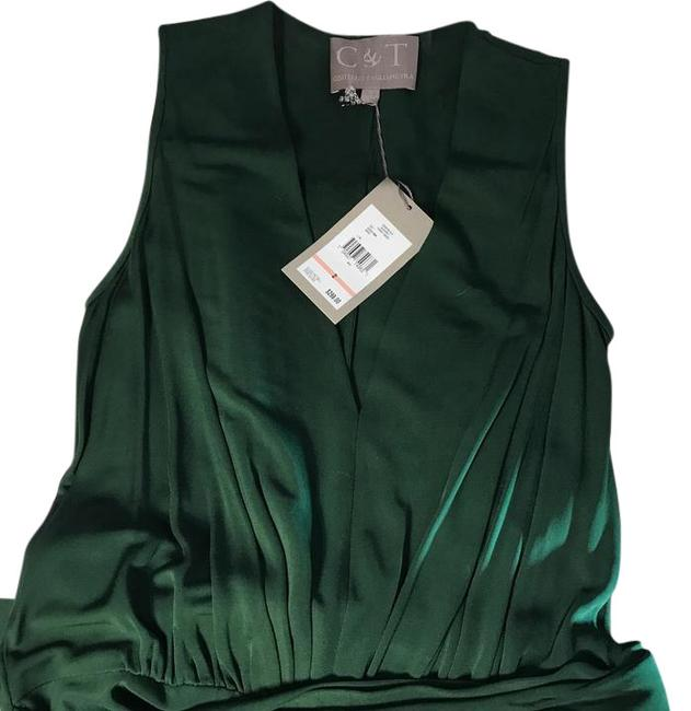 Item - Forest Green Summer Ii Mid-length Short Casual Dress Size 2 (XS)
