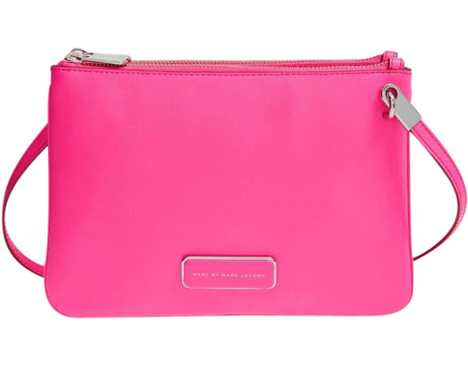 7d9fb1af596e Marc by Marc Jacobs Ligero Double Percy Leather 888877490847 M0005331 Cross  Body Bag Image 0 ...