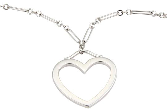 Preload https://img-static.tradesy.com/item/21462500/tiffany-and-co-white-gold-large-open-heart-pendant-chain-necklace-0-1-540-540.jpg