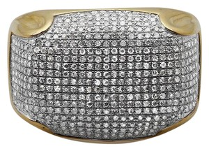 Jewelry Unlimited Mens Pave Iced Out Genuine Diamond Dome Puff Pinky Ring 1.3ct