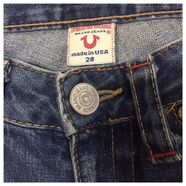 True Religion Boot Cut Jeans-Distressed Image 2