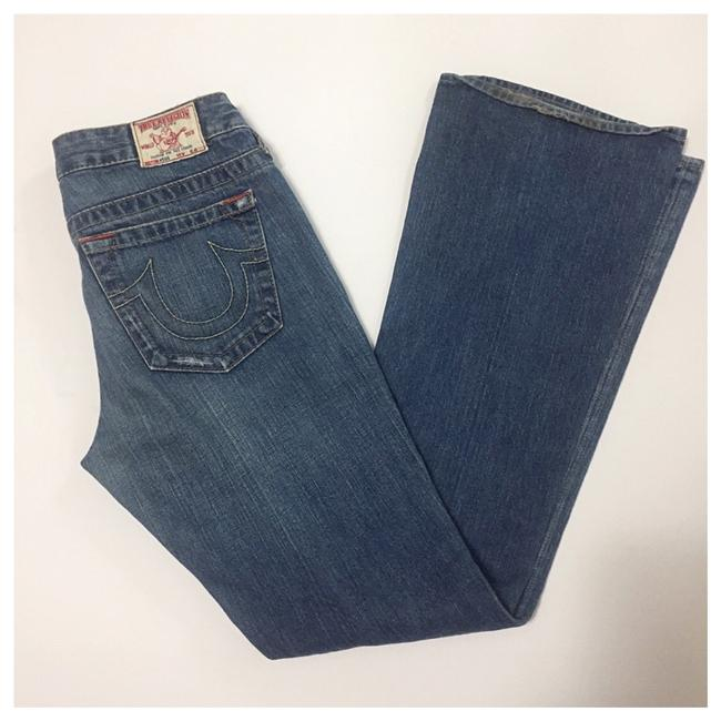 True Religion Boot Cut Jeans-Distressed Image 7
