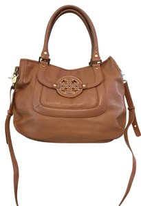 Tory Burch Pebbled Leather Supple Gold Hardware Hobo Bag