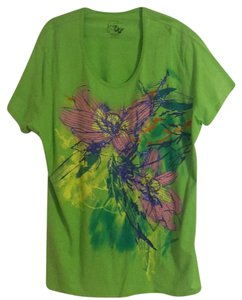 Just My Size T Shirt Green