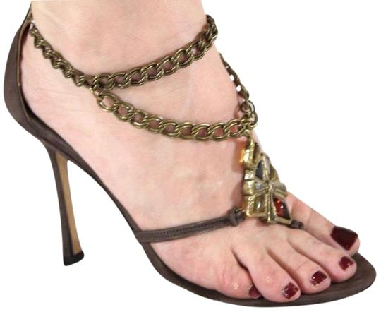 Preload https://img-static.tradesy.com/item/21462935/jimmy-choo-brown-gem-stone-cross-chain-strap-sandalsheels-37-sandals-size-us-7-0-1-540-540.jpg
