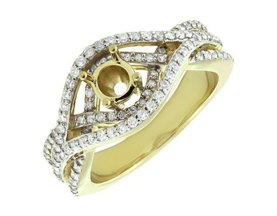 Preload https://img-static.tradesy.com/item/21462982/10k-yellow-gold-ladies-chevron-style-flower-genuine-diamond-fancy-035ct-ring-0-0-540-540.jpg