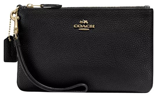Preload https://img-static.tradesy.com/item/21463043/coach-and-boxed-polished-pebble-small-37389b-black-leather-wristlet-0-5-540-540.jpg
